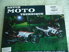 RMT REVUE TECHNIQUE MOTO HONDA VF 400 F VF500F et FII yamaha Fj1100 NUMERO N 60