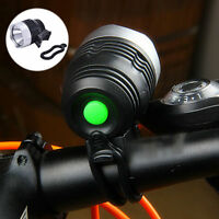 HOT LED Bicycle Bike Light USB Front Cycling Aluminum alloy Light Head lamp