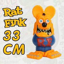 "New listing 13"" Orange Blue Rat Fink Action Figure Big ""Daddy"" Ed Roth Gift Toy"