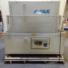 """Commercial 11"""" x 22"""" C-Pak 2221 Heat Tunnel For Shrink Wrap Film Packaging"""