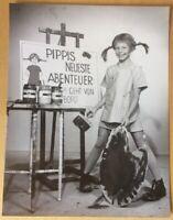 PIPPI LANGSTRUMPF Inger Nilsson orig. Kino-Pressefoto #c 24 x 18 cm