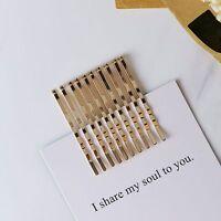 Bride Wedding Hairpin Hair Pin Bobby Pin Gold Side Hair Clip Accessories