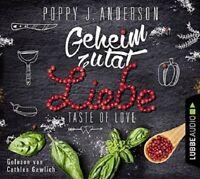 POPPY J. ANDERSON - TASTE OF LOVE-GEHEIMZUTAT LIEBE  4 CD NEW