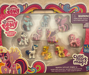 My Little Pony Friendship Is Magic Cutie Mark Mini Figures Collection Walmart Ex