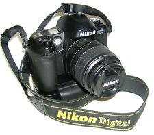 Nikon D100 Digital Camera w/Nikkor AF-S DX 18~55 Lens and M-D100 Battery Pack