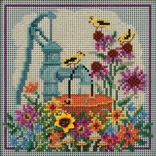 Water Pump Cross Stitch Kit Mill Hill 2020 Buttons & Beads Autumn Mh142021