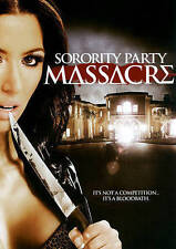 Sorority Party Massacre (DVD, 2014)