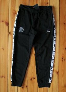 Nike Jordan PSG Paris Saint Germain Hose Schwarz Weiß Gr. XL NEU BQ8348 010