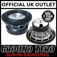 "Ground Zero Hydrogen GZHW 20X 8"" 20cm 400 Watts RMS 2 x 2Ohm Car Sub Subwoofer"