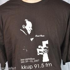 Kkup Jazz Piano Count Basie T-shirt 2Xl Big 3Xl 2007 Marathon Ltd Ed Fundraiser