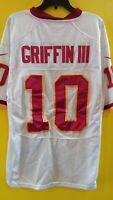 WASHINGTON REDSKINS #10 ROBERT GRIFFIN III NIKE NFL JERSEY MENS- 50