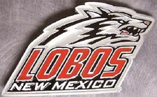 NCAA Pewter Belt Buckle University of New Mexico Lobos NEW