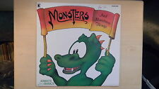 MONSTERS And Monstrous Things Kimbo Records LP 1986