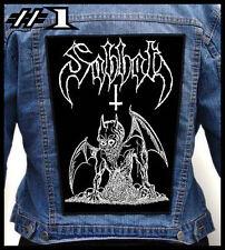 SABBAT --- Huge Jacket Back Patch Backpatch --- Various Designs