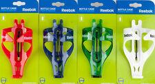 20 Stk Reebok Trinkflaschenhalter RCA1-15001 rot blau grün und weiß