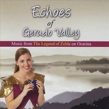 NEW Echoes Gerudo Valley: Legend of Zelda on Ocarina (Audio CD)