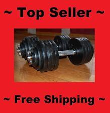 200 lbs One Pair 100 LBS Adjustable Dumbbells Total 200 lbs