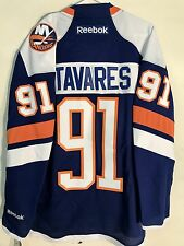 Reebok Premier NHL Jersey New York Islanders John Tavares Blue Alt sz S