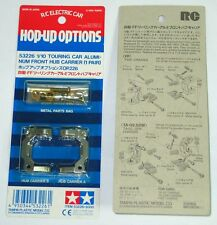 Tamiya Hop-Up 53226 TOURING CAR Aluminio Frontal Hub Carrier 1 PARES VINTAGE