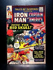 COMICS: Tales of Suspense #65 (1965), 1st SA Red Skull app - (captain america)
