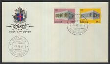 ICELAND 1969 EUROPA CEPT SET ON FDC (ID:365/D14891)