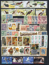 Worldwide mnh stamp collection with many good topicals on 1 page