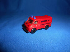 GERMAN FIRE FIGHTERS TRUCK #1 Emergency Vehicle Toy Plastic Toy Kinder Surprise