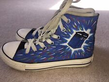 Huan Qiu Canvas Doctor Who Shoes Size 6