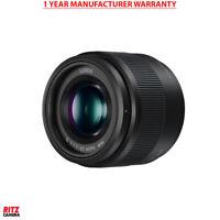 Panasonic Lumix G Lens, 25mm, F1.7 ASPH., Mirrorless Micro Four Thirds, H-H025K