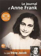 33043//LE JOURNAL D'ANNE FRANK LIVRE AUDIO CD MP3 NEUF 12H00
