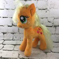 "My Little Pony Applejack Plush 12"" Standing Stuffed Animal Hasbro 2012 MLP"
