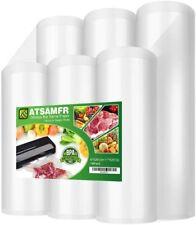 "New listing Premium! Atsamfr 6 Pack 8""x20'(3Rolls) and 11""x20' (3Rolls) Vacuum Sealer Food"