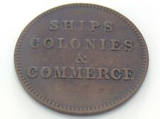 Prince Edward Island PEI Token Ships Colonies Commerce I803