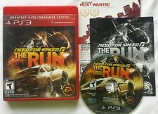 PS3 NEED FOR SPEED THE RUN VIDEO GAME SONY PLAYSTATION 3 GREATEST HITS FREE SHIP