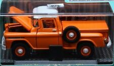 `59 Chevrolet Apache 4x4 Orange Truck 1959 *** M2 Machines Blister 1:64 RAR+OVP