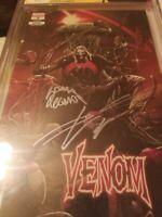Venom #3 3rd print cgc 9.8 SSx2 KEY 1ST KNULL hot book Donny Cates Stegman