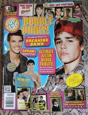 NM Dec 2011 POP STAR! MAGAZINE w/26 FREE POSTERS TAYLOR LAUTNER, JUSTIN BEIBER +