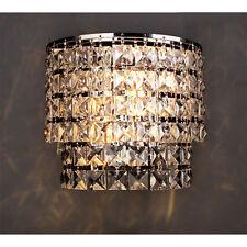 Moderne Crystal Lamp Sconce Luxus Nachttisch Wandleuchten Schlafzimmer Lampe HC