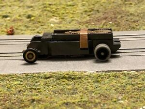 Aurora AFX Fray TJet HO Slot Car chassis, CNC gears, balanced arm, sponge silis