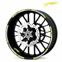 17inch Wheel Stickers Motorcycle Wheel Tire Rim Stickers For Yamaha FZ