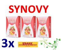3x Synovy Fiber Detox Supplements Body Slim Health Dietary Weight Loss  Natural