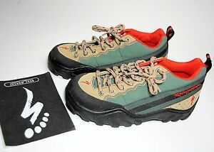 NEW OLD STOCK SPECIALIZED ROCK HOPPER 38 EURO 6 USA GREEN & TAN MTN BIKE SHOES