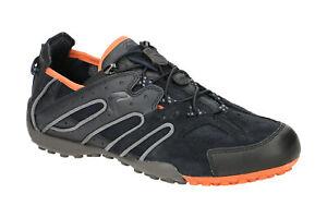 Geox Schuhe SNAKE blau Herrenschuhe Sneakers U4207J 02214 C0820 NEU