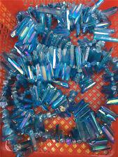 25-35pcs Rainbow AURA FLAME Titanium Seed Quartz Crystal POINT 1/2lb Healing