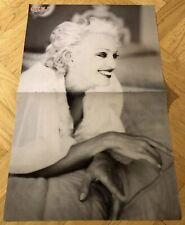 Madonna 1990s Poster Swedish Music magazine Okej Vintage