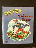 RARE Peter the Lonesome Hermit, Whitman Tell Tale, 1947, 1st ed, Brand New!