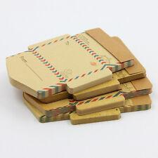 45pcs Retro Vintage Kraft Paper Envelopes Mini Letter Crafts Greetings Postcards