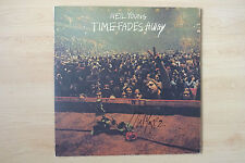 "Neil Young Autogramm signed LP-Cover ""Time Fades Away"" Vinyl"