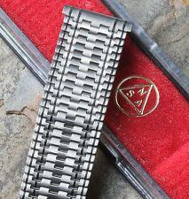 LAST ONE Special pattern Swiss NSA vintage watch band 18mm 19mm or 20mm 1960/70s