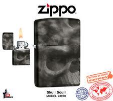 Zippo Lighter Sof Touch Skull Black Classic Windproof 28970